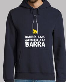 la bière de la batterie