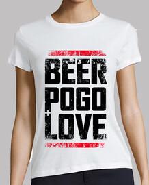 la bière, de la saleté blanche pogo & love