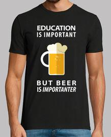 la bière est importante
