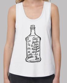 La Botella de Ron.(negro)