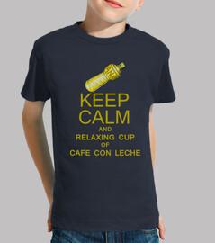 La botella y el Cafe con Leche