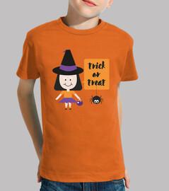 La brujita de Halloween