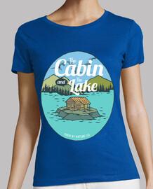 la cabane and le lac