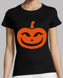la calabaza sonriente de halloween