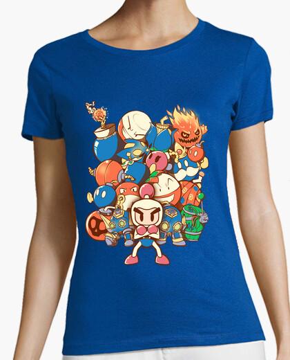 Camiseta la camisa de la mujer última bomba