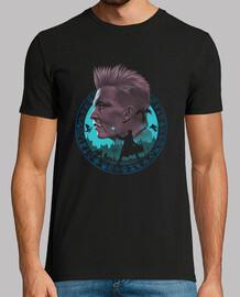la camisa de mago oscuro para hombre