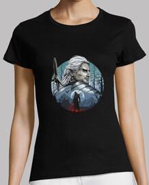 la camisa del cazador de monstruos para mujer