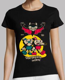 la camisa del diablo camiseta para mujer