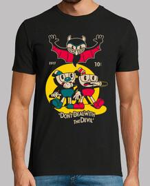 la camisa del diablo para hombre