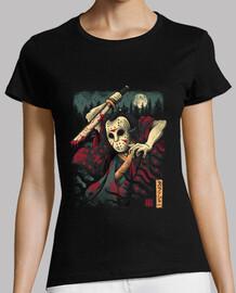 la camisa samurai slasher para mujer