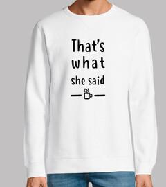 la camiseta de la oficina - eso es lo q