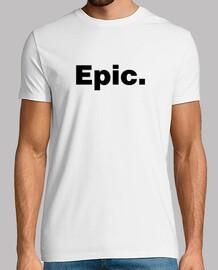 la camiseta épica