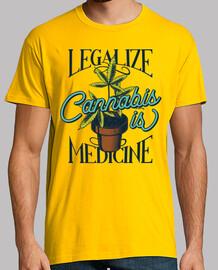 la cannabis è una medicina
