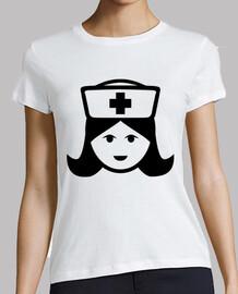 la cara de la enfermera principal