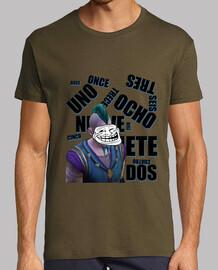 La cara del mal | Camiseta Chico