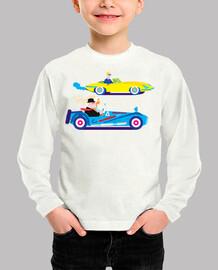 la carrera de autos