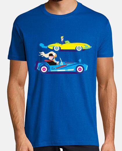 la carrera de coches
