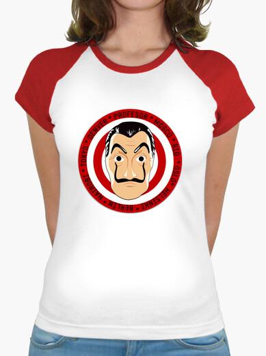 Camiseta La Casa de Papel - Mascara