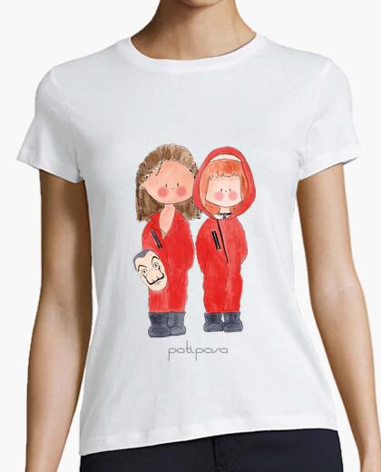 La casa di carta. t-shirt donna