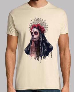 la catrina männer t-shirt