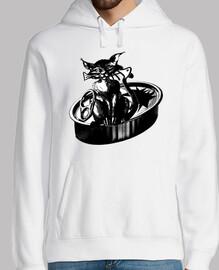 la cena del gato