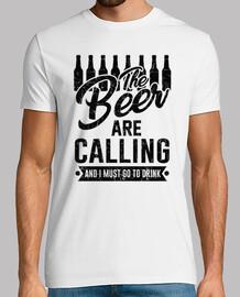 la cerveza está llamando