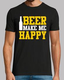 la cerveza me hace feliz