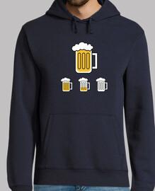 La cerveza se acaba