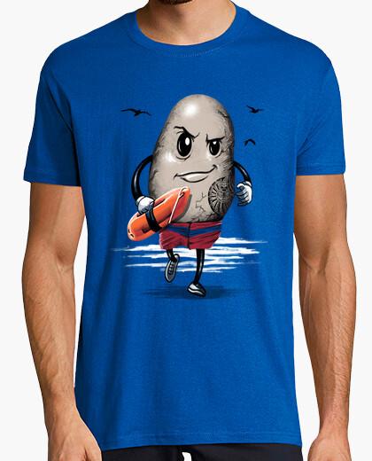 Tee-shirt la chemise de sauveteur des roches hommes