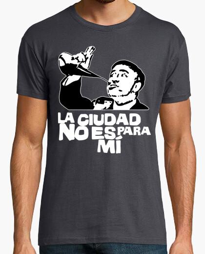 T-shirt la città non è per me - paco martínez