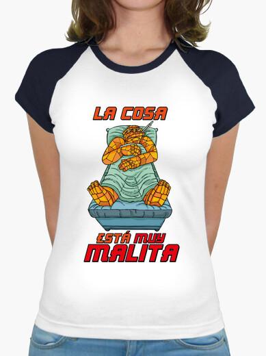 Camiseta LA COSA ESTÁ MUY MALITA