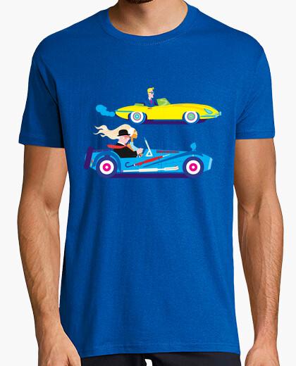 Tee-shirt la course de voiture