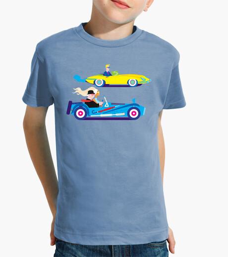 Vêtements enfant la course de voiture