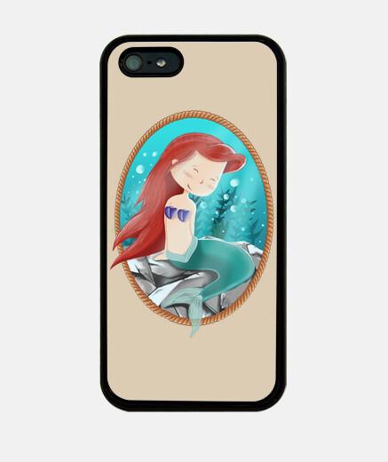 la cubierta de la sirena iphone 5