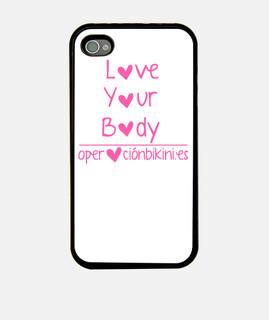 la custodia per iphone 4 amore your corpo