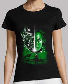 la dernière chemise alien femme