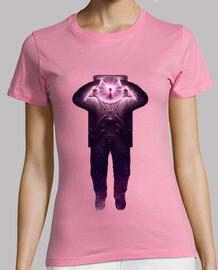 la donna t-shirt donna plasmanauta