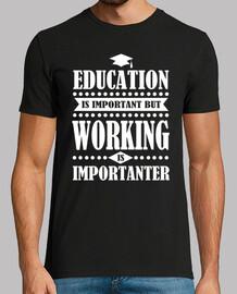 la educación es importante pero funciona