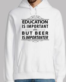 La educación de la cerveza es important