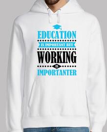 la educación es importante pero acampar