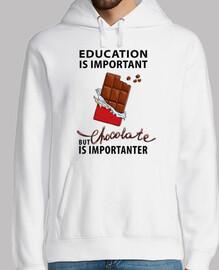 La educación es importante pero el choc