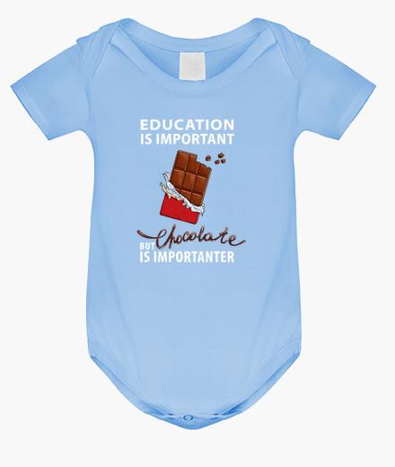 Ropa infantil La educación es importante pero el choc