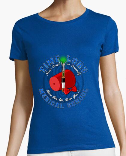 Camiseta la escuela de medicina señor tiempo 11