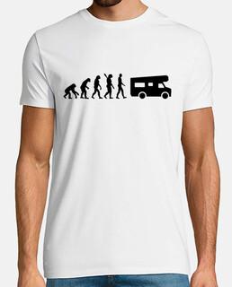 la evolución de caravanas de camping