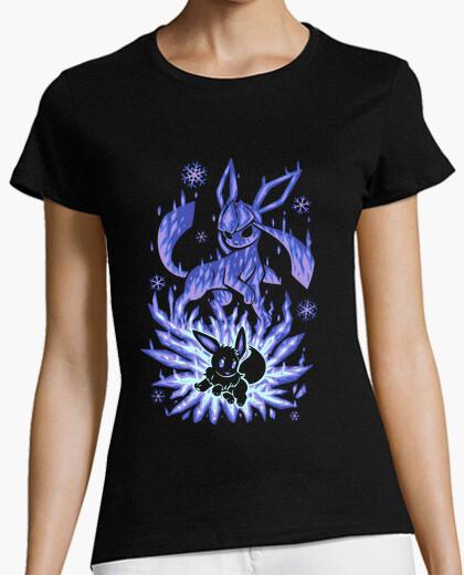Camiseta la evolución de hielo dentro - camisa de mujer