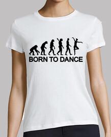 la evolución de la bailarina de ballet