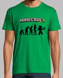 La evolución de Minecraft - Verde