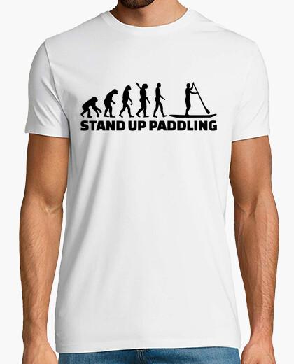 Camiseta la evolución de pie infantil