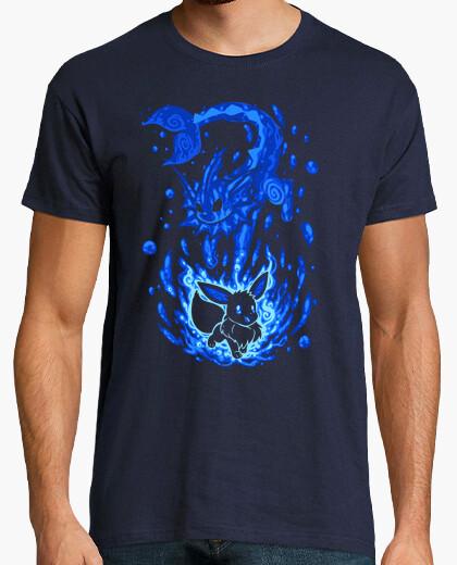 Camiseta la evolución del agua dentro - camisa para hombre