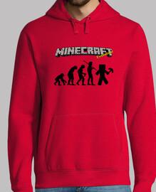 La evolución Minecraft - Roja